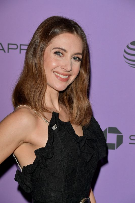ALISON BRIE at Promising Young Woman Premiere at 2020 Sundeance Film Festival 01/25/2020