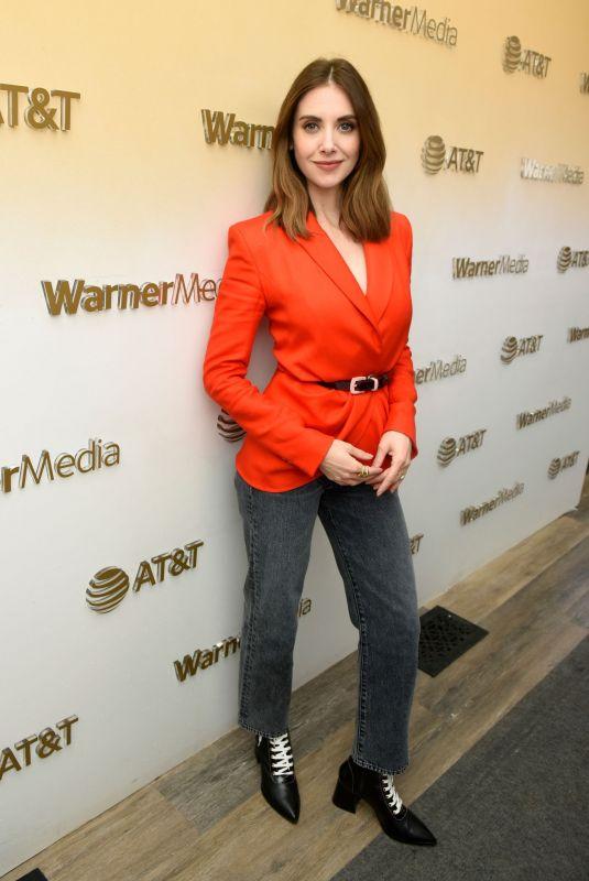 ALISON BRIE at Warnermedia Lodge at Sundance Film Festival in Park City 01/27/2020