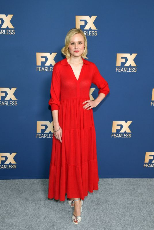 ALISON PILL at Fox TCA All Star Party in Pasadena 01/07/2020