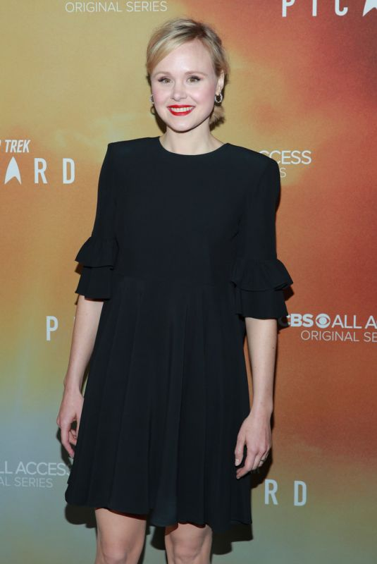 ALISON PILL at Star Trek: Picard Premiere in Hollywood 01/14/2020