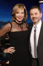 ALLISON JANNEY at Jimmy Kimmel Live 01/14/2020