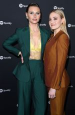 ALY and AJ MICHALKA at Spotify Hosts Best New Artist Party in Los Angeles 01/23/2020