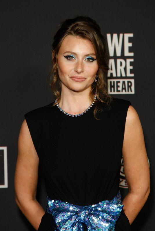 ALY MICHALKA at Art of Elysium Presents We Are Hear's Heaven 2020 in Los Angeles 01/04/2020