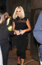 AMANDA HOLDEN Arrives at Britain