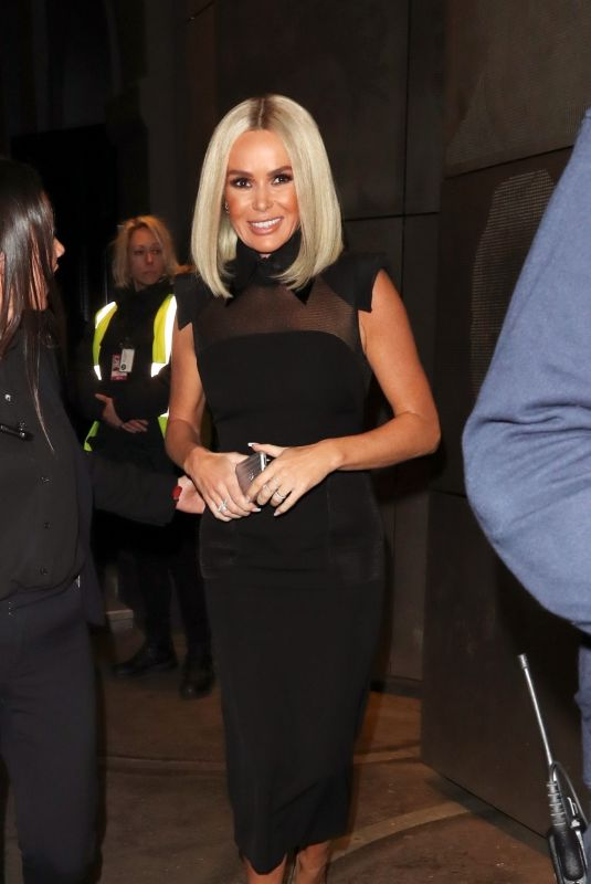 AMANDA HOLDEN Arrives at Britain's Got Talent Auditions in London 01/22/2020