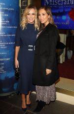 AMANDA HOLDEN at Les Miserables Gala Press Night in London 01/16/82020