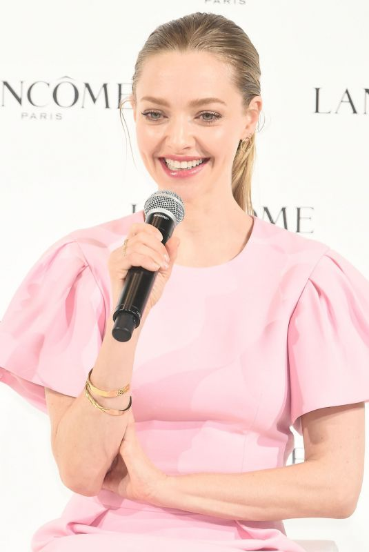 AMANDA SEYFRIED at Lancome Press Conference in Tokyo 01/15/2020