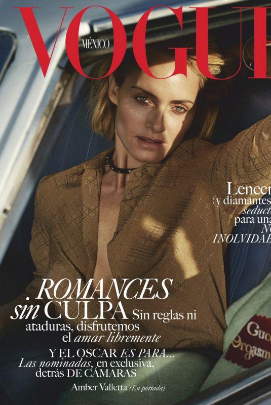 AMBER VALLETTA in Vogue Magazine, Mexico February 2020