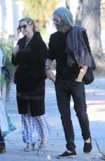 AMY ADAMS Out in Los Angeles 01/01/2020