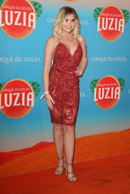 AMY HART at Cirque Du Soleil Luzia Premiere at Royal Albert Hall in London 01/15/2020