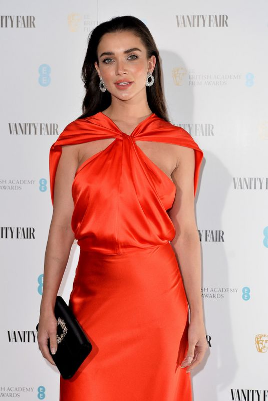AMY JACKSON at Vanity Fair EE Rising Star Baftas Pre-party in London 01/22/2020