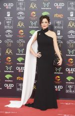 ANA ALVAREZ at 34th Goya Cinema Awards 2020 in Madrid 01/25/2020