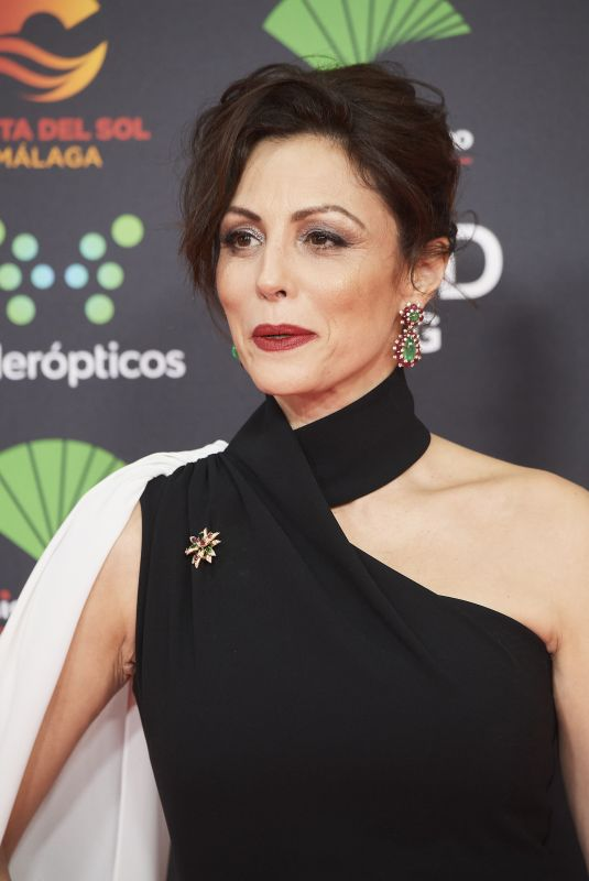 ANA ALVAREZ at 34th Goya Cinema Awards 2020 in Madrid 01/25/2020