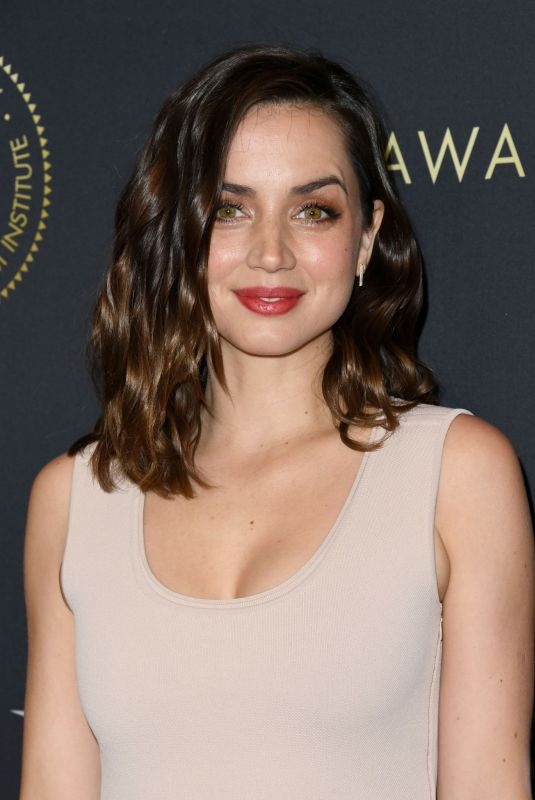 ANA DE ARMAS at 20th Annual AFI Awards in Beverly Hills 01/03/2020