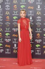 ANA FERNANDEZ at 34th Goya Cinema Awards 2020 in Madrid 01/25/2020