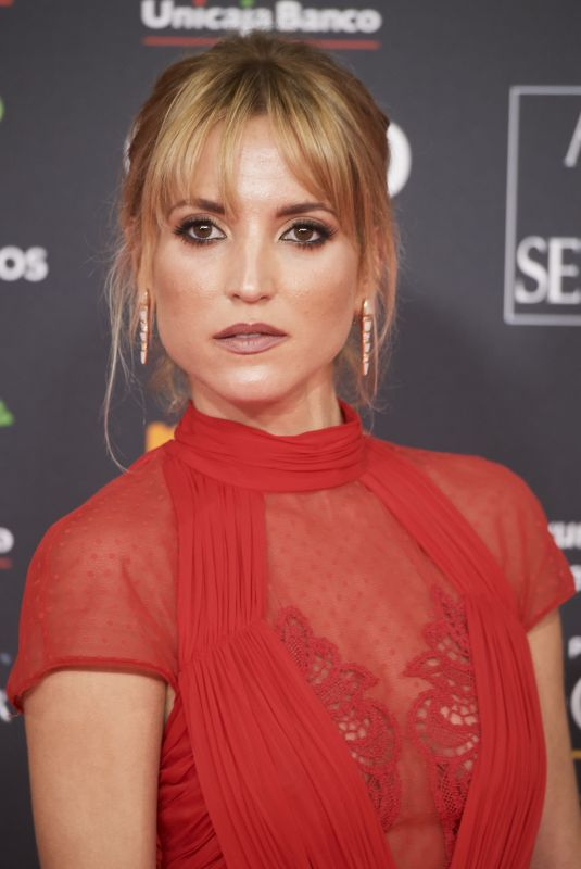 ANA FERNANDEZ at 34th Goya Cinema Awards 2020 in Madrid 01/25/2020