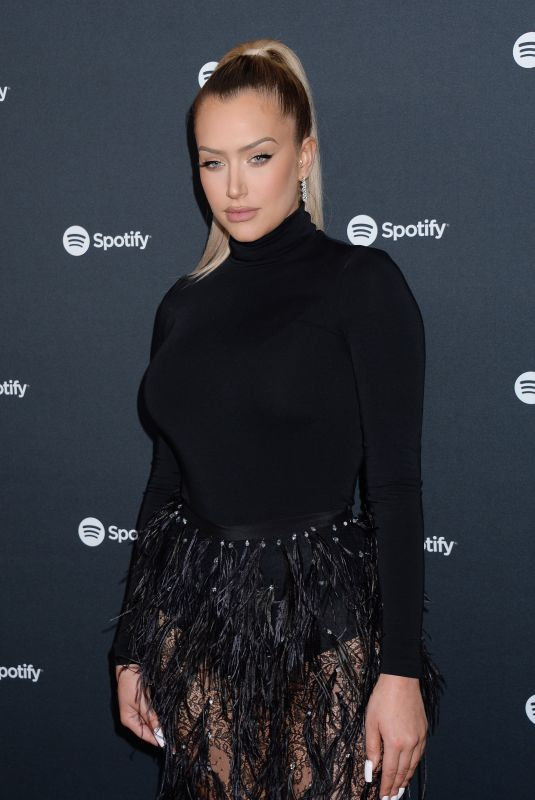 ANASTASIA KARANIKOLAOU at Spotify Hosts Best New Artist Party in Los Angeles 01/23/2020