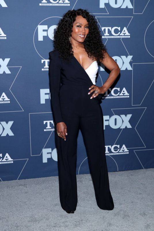 ANGELA BASSETT at 2020 Fox Winter TCA All Star Party in Pasadena 01/07/2020