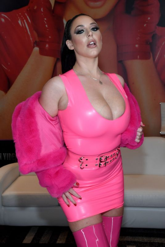 ANGELA WHITE at AVN Adult Entertainment Expo 2020 in Las Vegas 01/22/2020