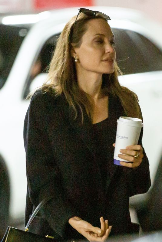 ANGELINA JOLIE Out Shopping in Los Angeles 01/05/2020