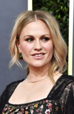 ANNA PAQUIN at 77th Annual Golden Globe Awards in Beverly Hills 01/05/2020