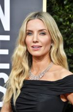 ANNABELLE WALLIS at 77th Annual Golden Globe Awards in Beverly Hills 01/05/2020