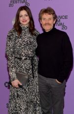 ANNE HATHAWAY at The Last Thing He Wanted Premiere at 2020 Sundance Film Festival 01/27/2020