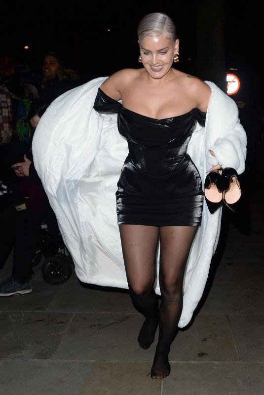 ANNE MARIE Arrives at Vanity Fair EE Rising Star Baftas Pre-party in London 01/22/2020