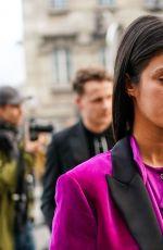 ANYA CHALOTRA Out at Paris Fashion Week 01/19/2020