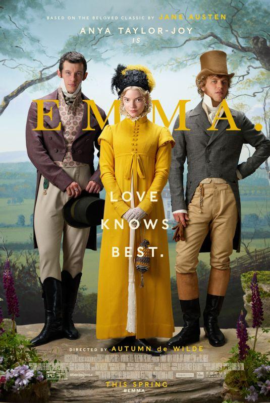 ANYA TAYLOR-JOY - Emma Poster and Trailer