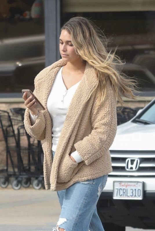 APRIL LOVE GEARY Out Shopping in Malibu 01/09/2020