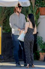 ARIEL WINTER and Luke Benward at Il Pastaio in Beverly Hills 01/06/2020