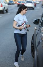 ARIEL WINTER Leaves Her Acting Class in Los Angeles 01/15/2020