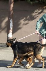 ARIEL WINTER Out with Her Dog in Los Angeles 01/18/2020