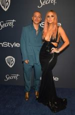 ASHLEE SIMPSON and Evan Ross at Instyle and Warner Bros. Golden Globe Awards Party 01/05/2020