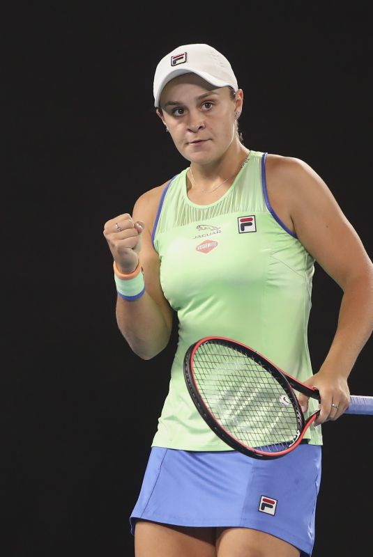 ASHLEIGH BARTY at 2020 Australian Open at Melbourne Park 01/20/2020