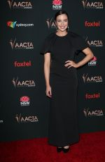 ASHLEIGH BREWER at 9th Aacta International Awards in West Hollywood 01/03/2020