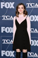 ASHLEY BOETTCHER at Fox TCA All Star Party in Pasadena 01/07/2020