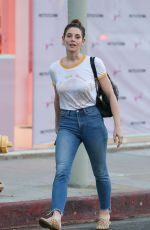ASHLEY GREENE Out and About in West Hollywood 01/23/2020