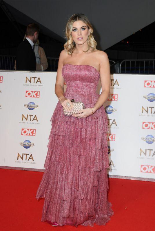 ASHLEY JAMES at National Television Awards 2020 in London 01/28/2020