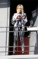 ASHLEY ROBERTS Arrives at Rehearsals for New Music Video in West Hollywood 01/16/2020