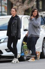 ASHLEY TISDALE and SABRINA JALEES Out for Lunch in Los Angeles 01/16/2020