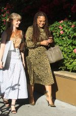 AVA DUVERNAY Leaves Four Seasons Hotel in Beverly Hills 01/03/2020