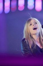 AVRIL LAVIGNE at JSTV 2012 New Year