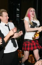 AVRIL LAVIGNE at New Years Eve Party, Planet Hollywood in Las Vegas 12/31/2007