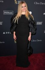 AVRIL LAVIGNE at Recording Academy and Clive Davis Pre-Grammy Gala in Beverly Hills 01/25/2020