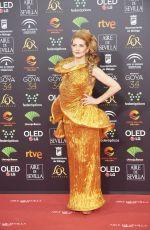 AZUCENA DE LA FUENTE at 34th Goya Cinema Awards 2020 in Madrid 01/25/2020