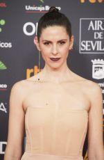 BARBARA SANTACRUZ at 34th Goya Cinema Awards 2020 in Madrid 01/25/2020