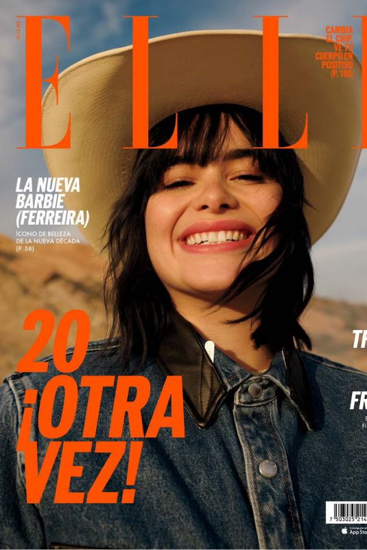 BARBIE FERREIRA in Elle Magazine, Mexico January 2020