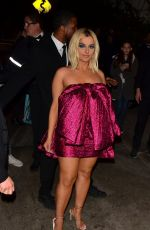 BEBE REXHA Arrives at Chateau Marmont in Hollywood 01/05/2020